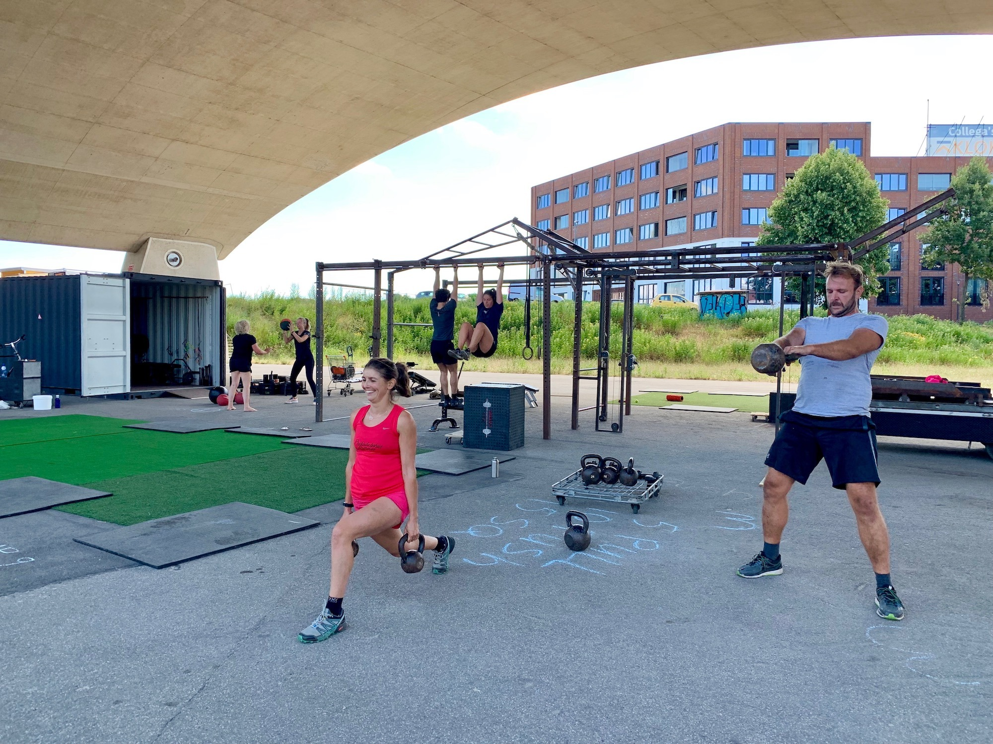 NYMA OUTDOOR GYM - STRONG&FIT