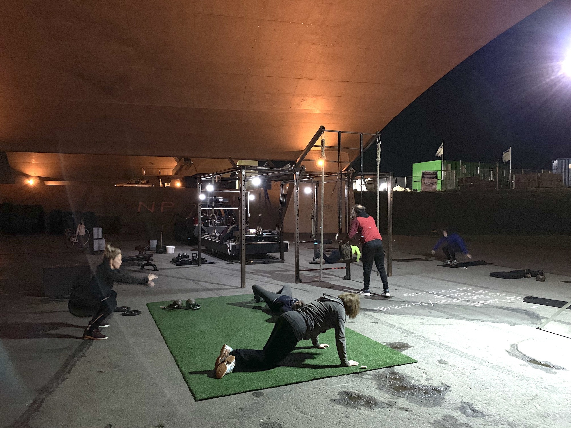 NYMA OUTDOOR GYM 14-01-2019