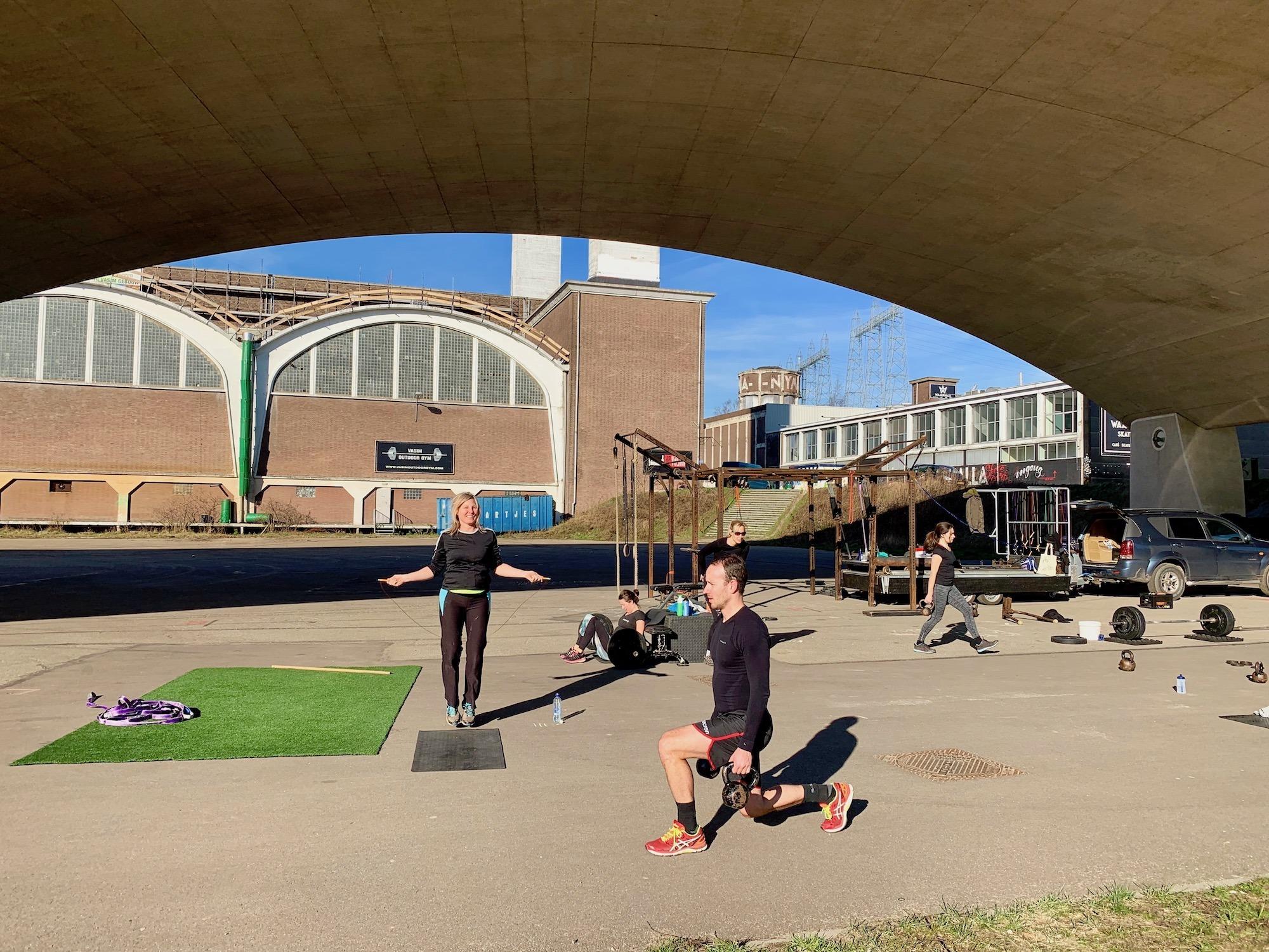 Nyma Outdoor Gym - De Buiten Sportschool in Nijmegen