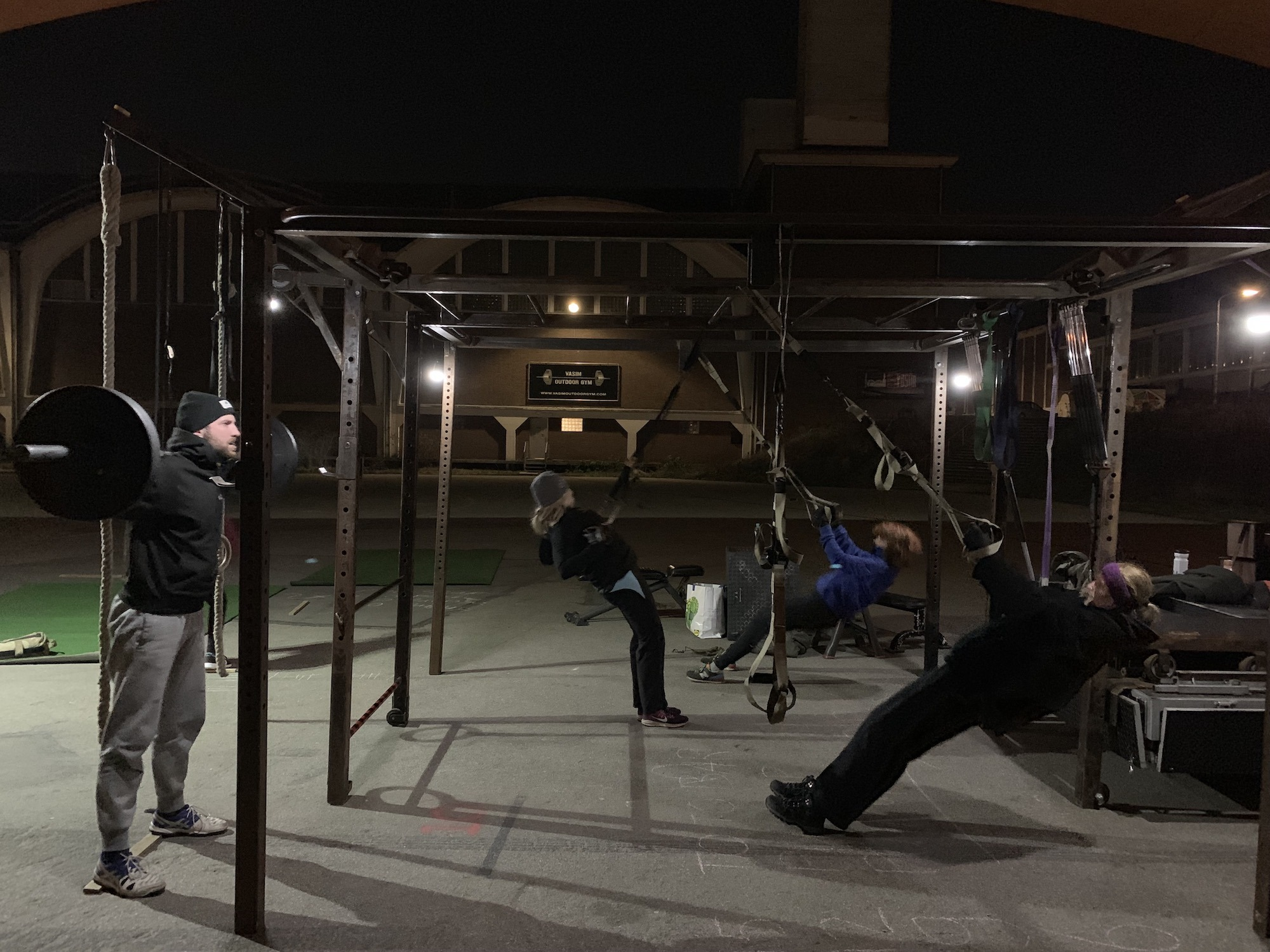 NYMA OUTDOOR GYM 21-01-2019