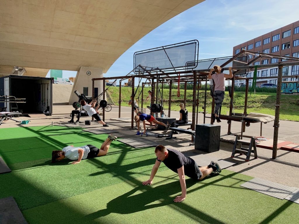 NYMA OUTDOOR GYM 23-08-2019