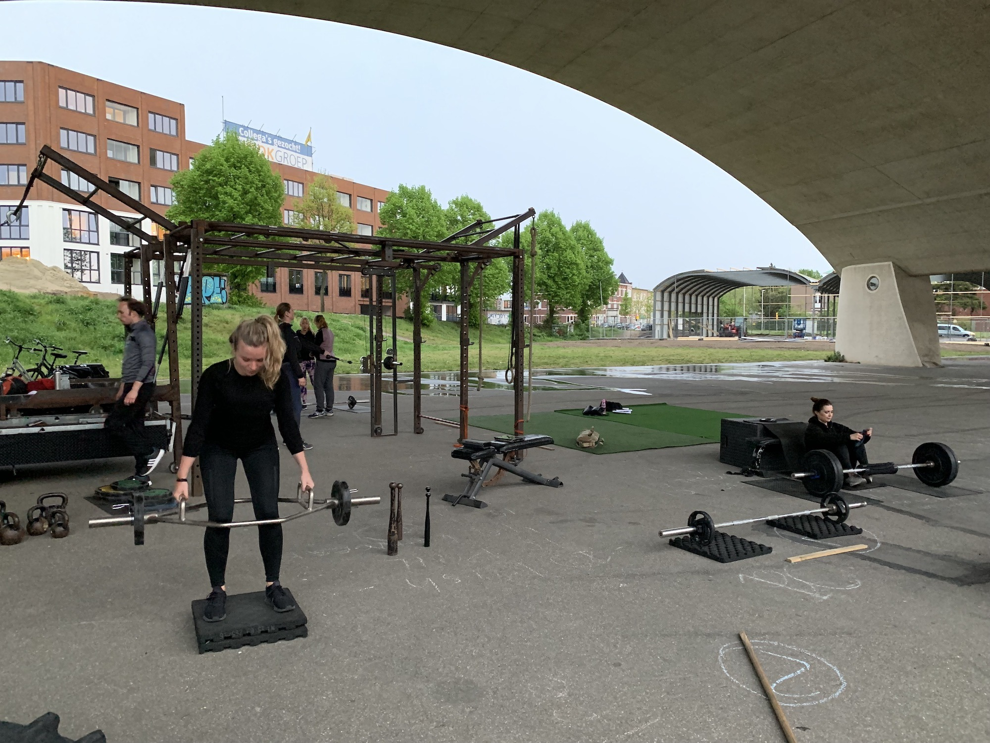 NYMA OUTDOOR GYM 25-04-2018