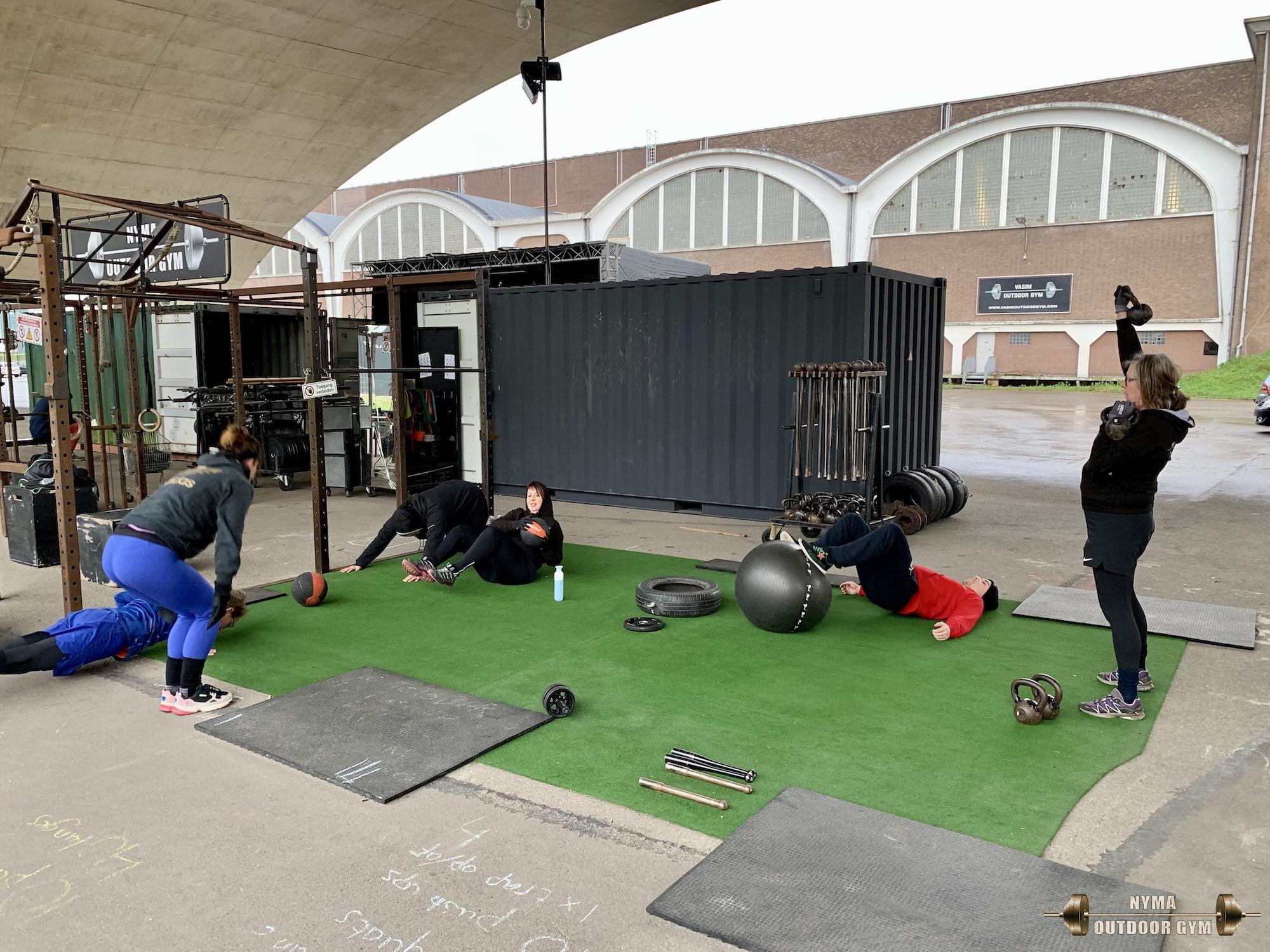NYMA OUTDOOR GYM 29-01-2020