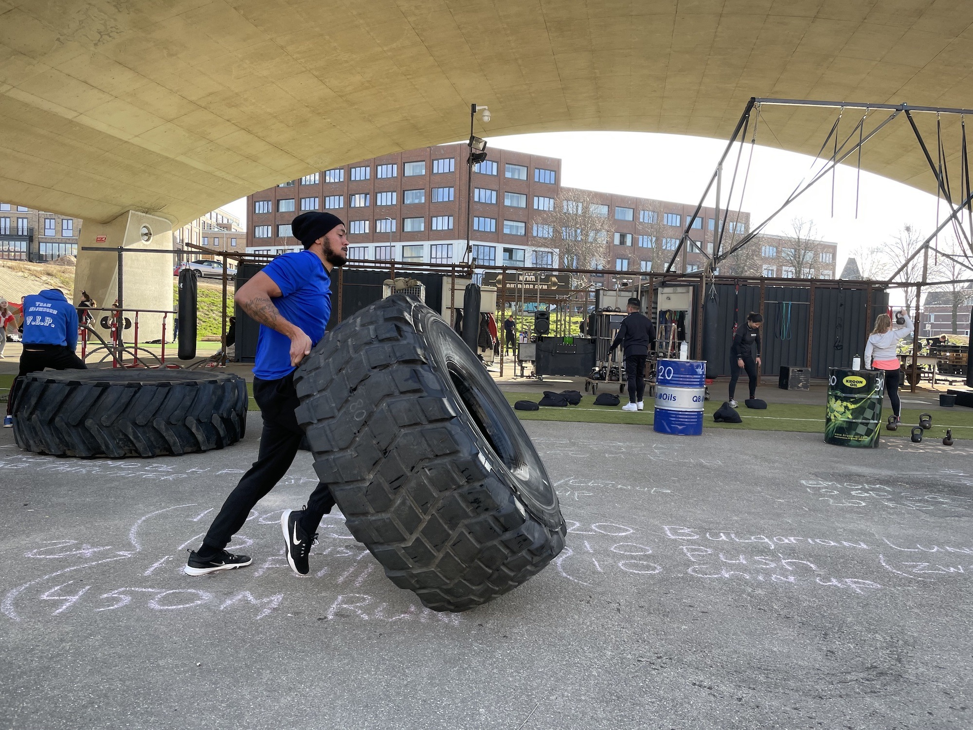NYMA OUTDOOR GYM - HEAVY SHIT HIIT